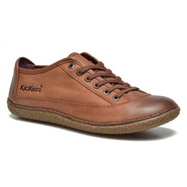 kickers HOLLYDAY marron